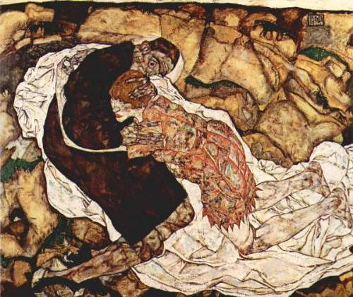 Egon Schiele - Death and the Woman