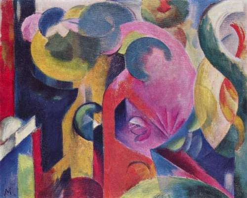 Franz Marc - Composition III