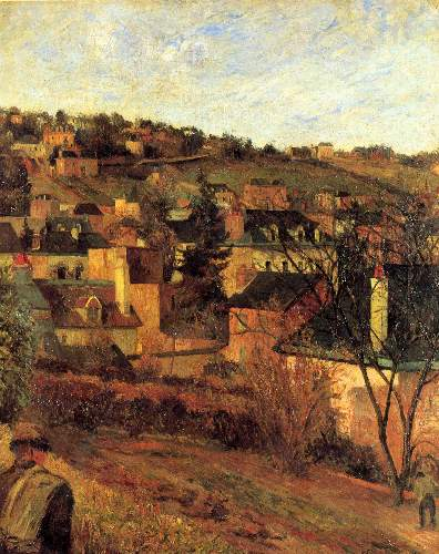 Gauguin - Blue Roots at Rouen