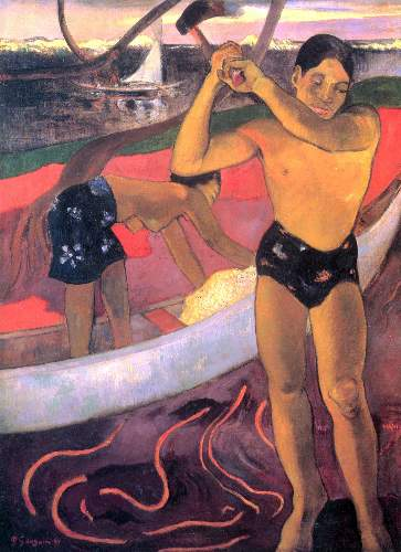 Gauguin - Man with Ax