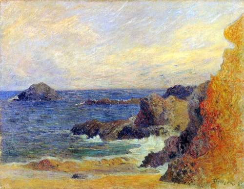 Gauguin - Rocky Coast