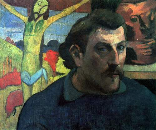 Gauguin - Self Portrait with Yellow Christ