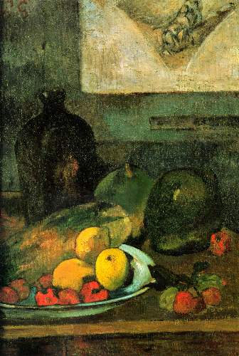Gauguin - Still Life in Front of a Stich