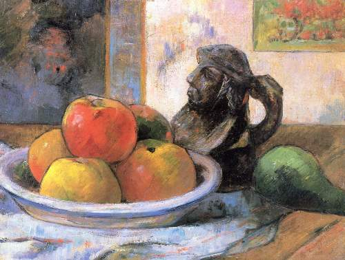 Gauguin - Still Life with Apples, Pears and Krag