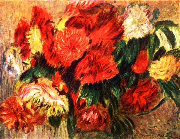 Gauguin - Still life with Chrysanthemums