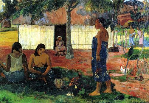 Gauguin - Whya are you Angry
