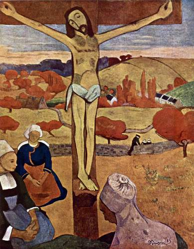 Gauguin - Yellow Christ