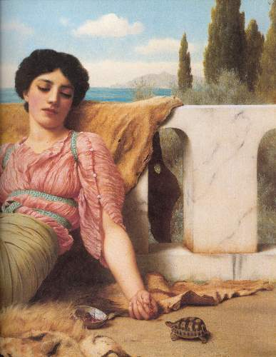 Godward - A quiet pet