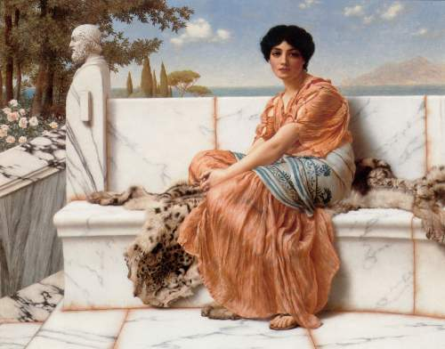 Godward - In the Days of Sappho
