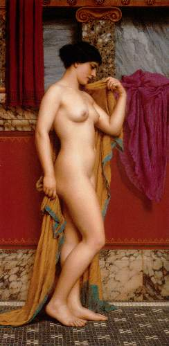 Godward - In the Tepidarium