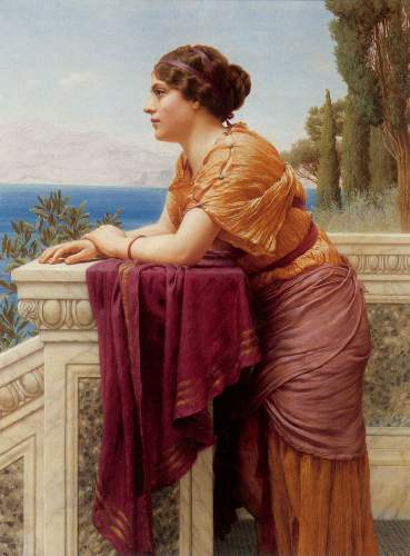 Godward - The belvedere