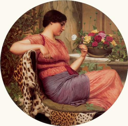 Godward - The time of roses