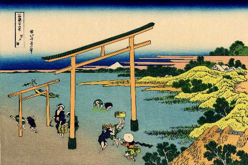 Hokusai - Bay of Noboto