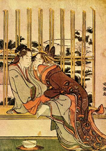 Hokusai - Couples