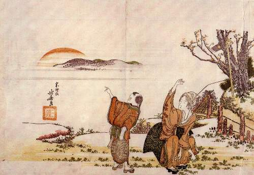 Hokusai - Crazy poetry