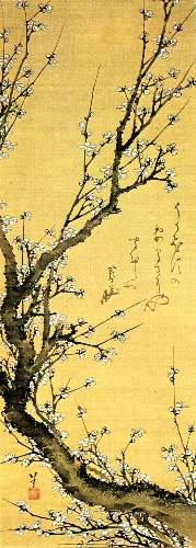 Hokusai - Flowering plum