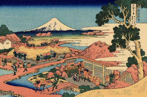 Hokusai - The Tea plantation