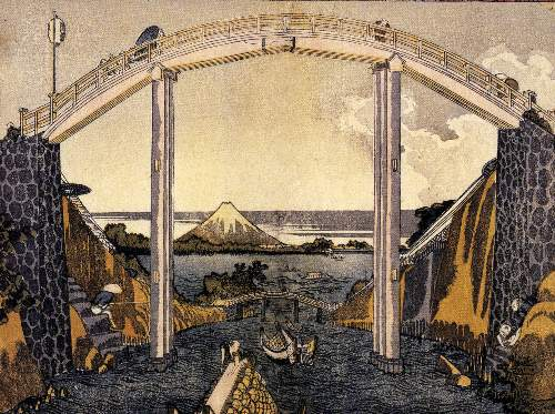 Hokusai - View of Mount Fuji