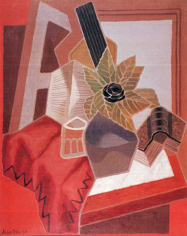 Juan Gris - Flowers on the table