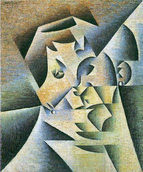 Juan Gris - Portrait of the mother of the artist