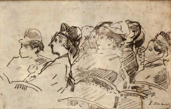 Manet - At the Theater