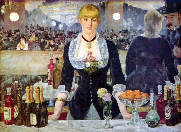 Manet - Bar in the Folies-Bergere