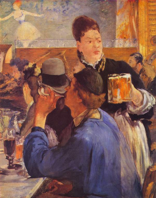 Manet - Beer Waitress