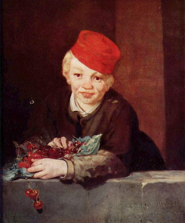 Manet - Boy with the cherries