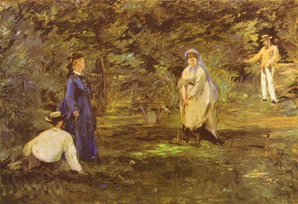 Manet - Croquet Party