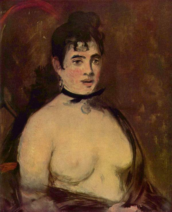 Manet - Female act