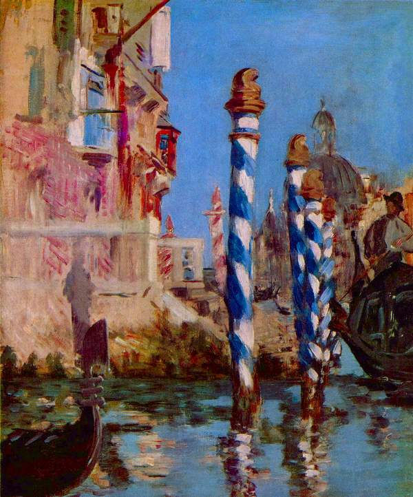 Manet - Grand Canal in Venice