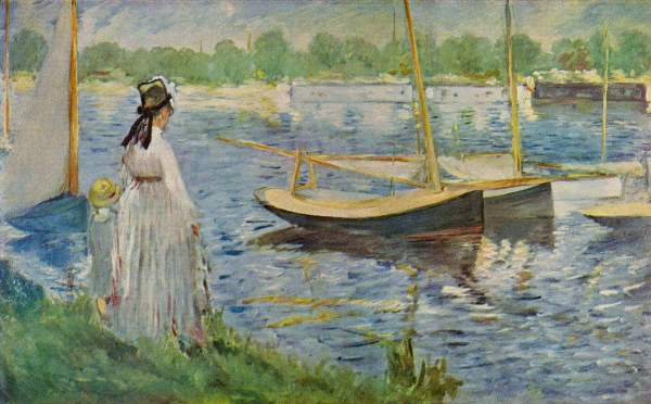 Manet - His embankment at Argenteuil