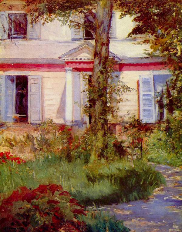 Manet - House in Rueil