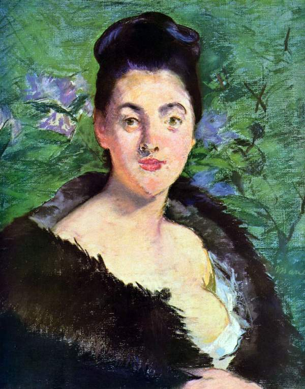 Manet - Lady in Fur