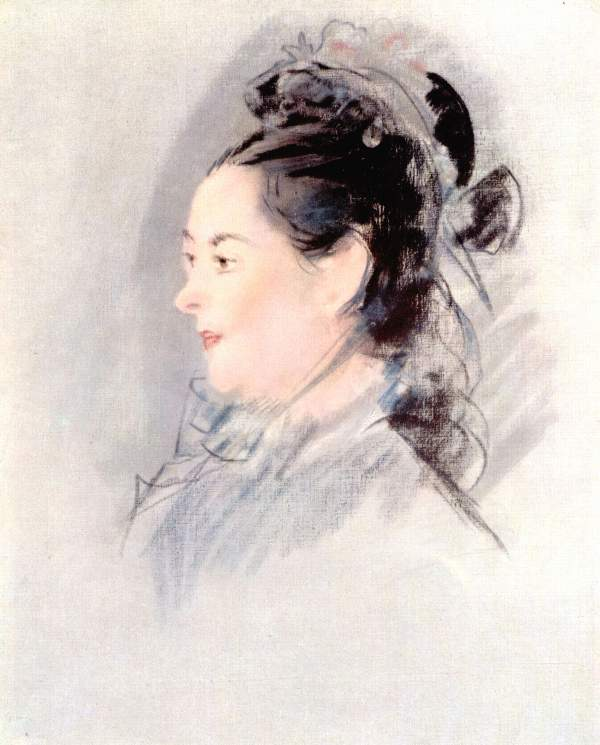 Manet - Lady with Hair Up