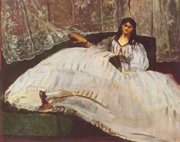 Manet - Lady with fan