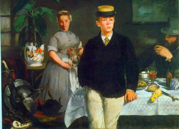 Manet - Luncheon