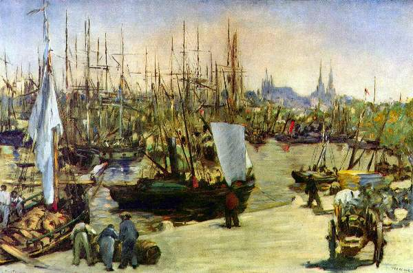 Manet - Port of Bordeaux