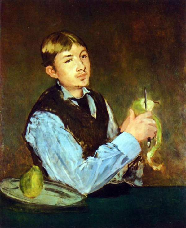 Manet - Portait of Leon Leenhoff