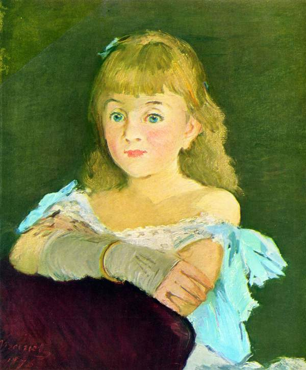 Manet - Portrait of Lina Campineanu