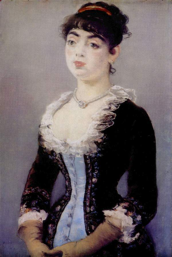 Manet - Portrait of Madame Michel-Levy