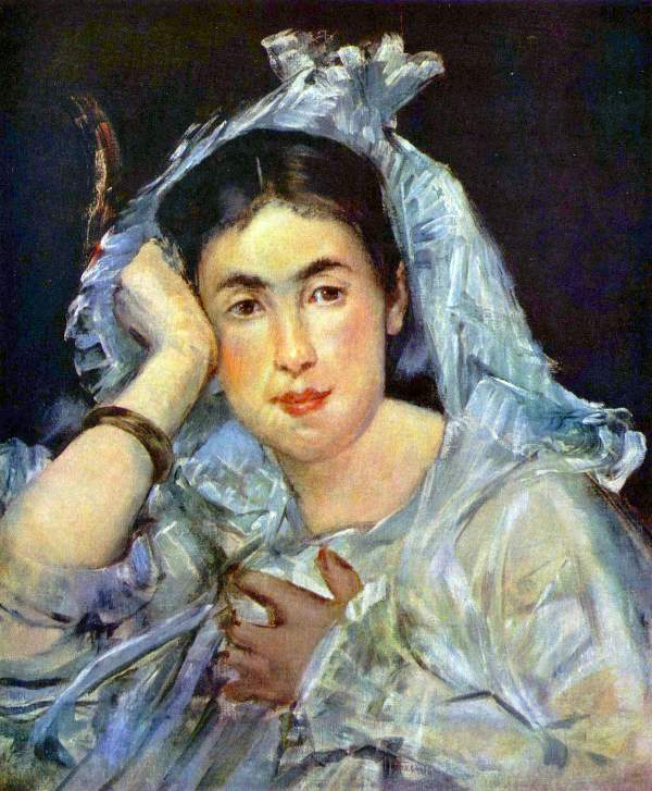 Manet - Portrait of Marguerite de Conflans