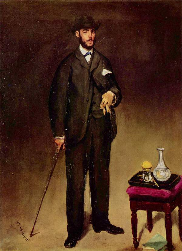 Manet - Portrait of Theodore Duret