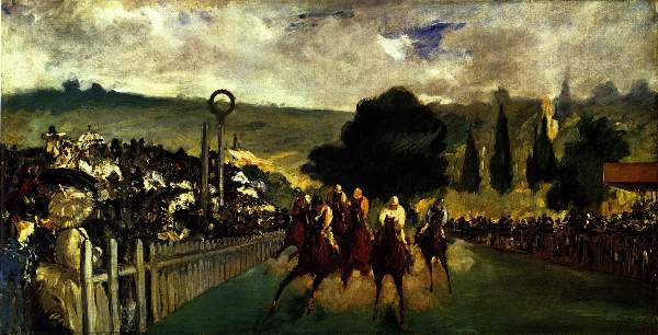 Manet - Race at Longchamp