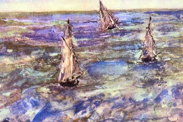 Manet - Seascape, 1873
