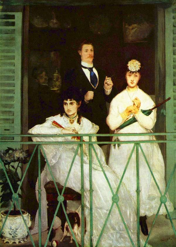 Manet - The Balcony