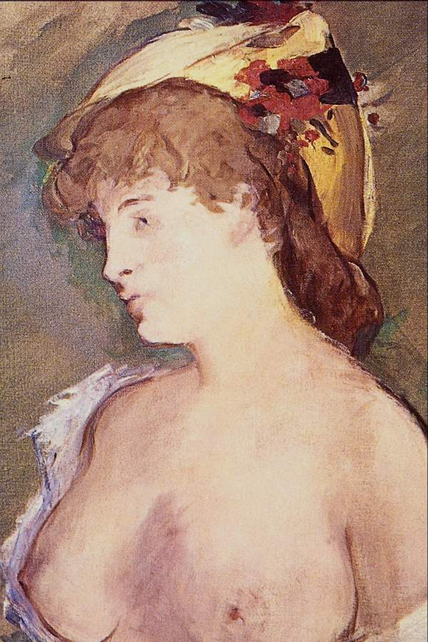 Manet - The Blond Nude