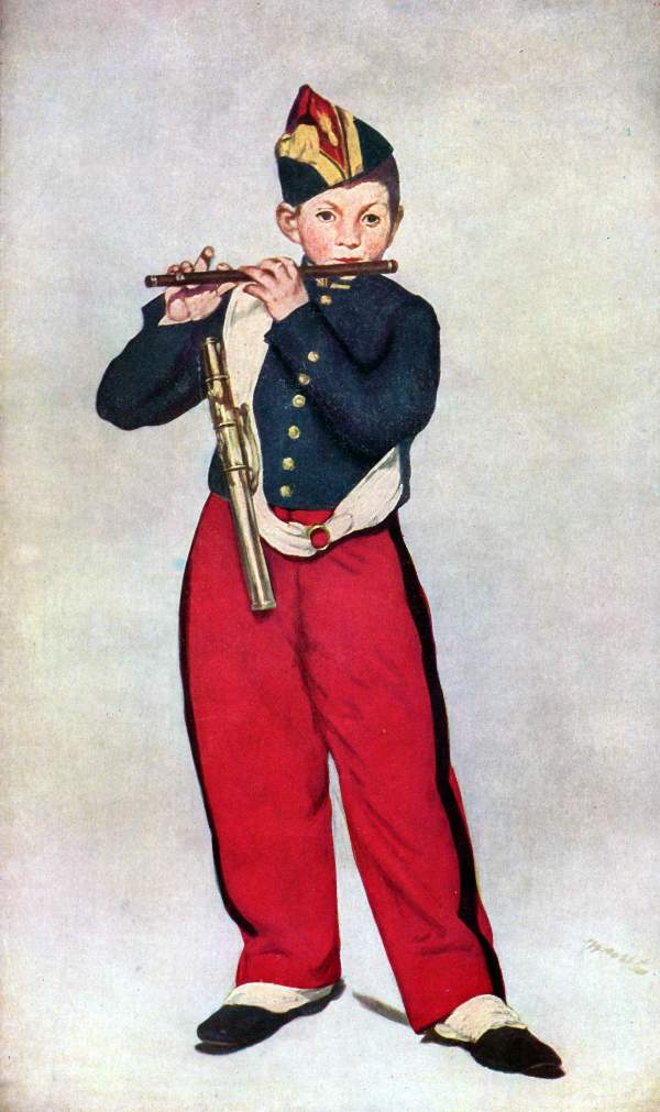 Manet - The Piper