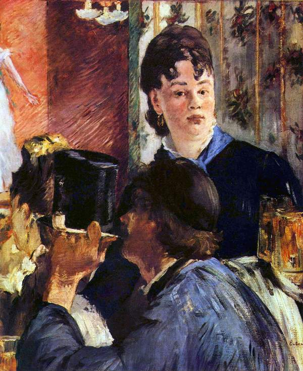 Manet - Waitress