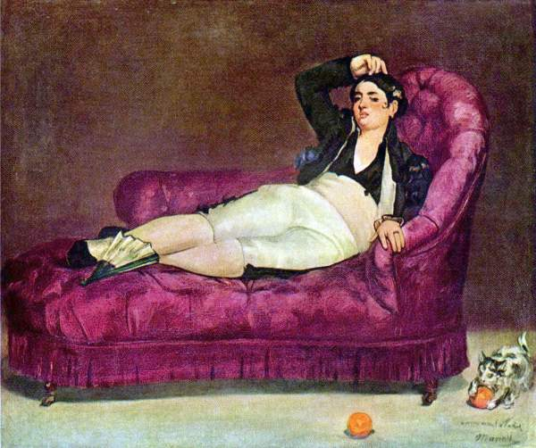 Manet - Young woman in Spanish dress